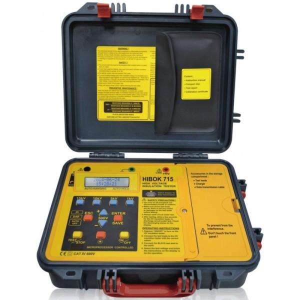 Medidor de aislamiento HIBOK715 (15kV)