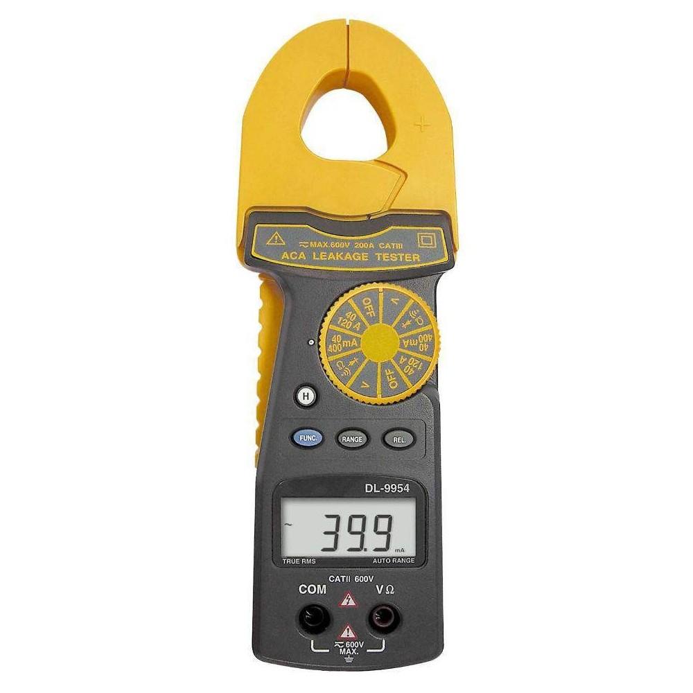 Pinza amperimétrica de fugas DL-9954