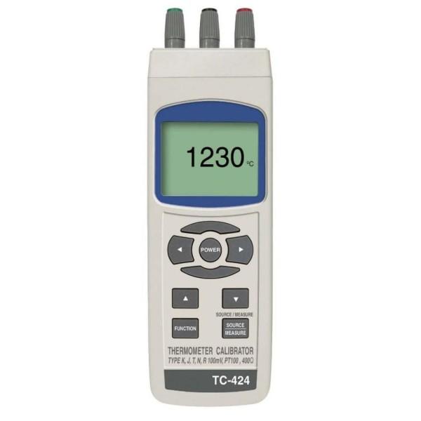 Calibrador de procesos TC-424,