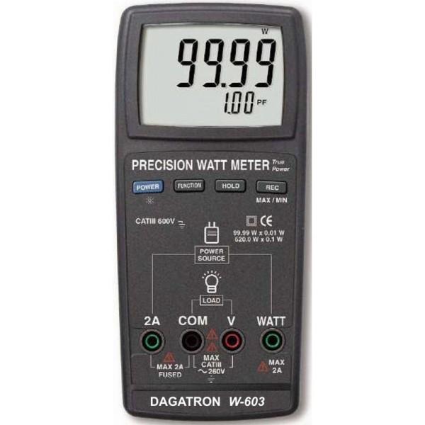 Multímetro vatímetro Dagatron W-603