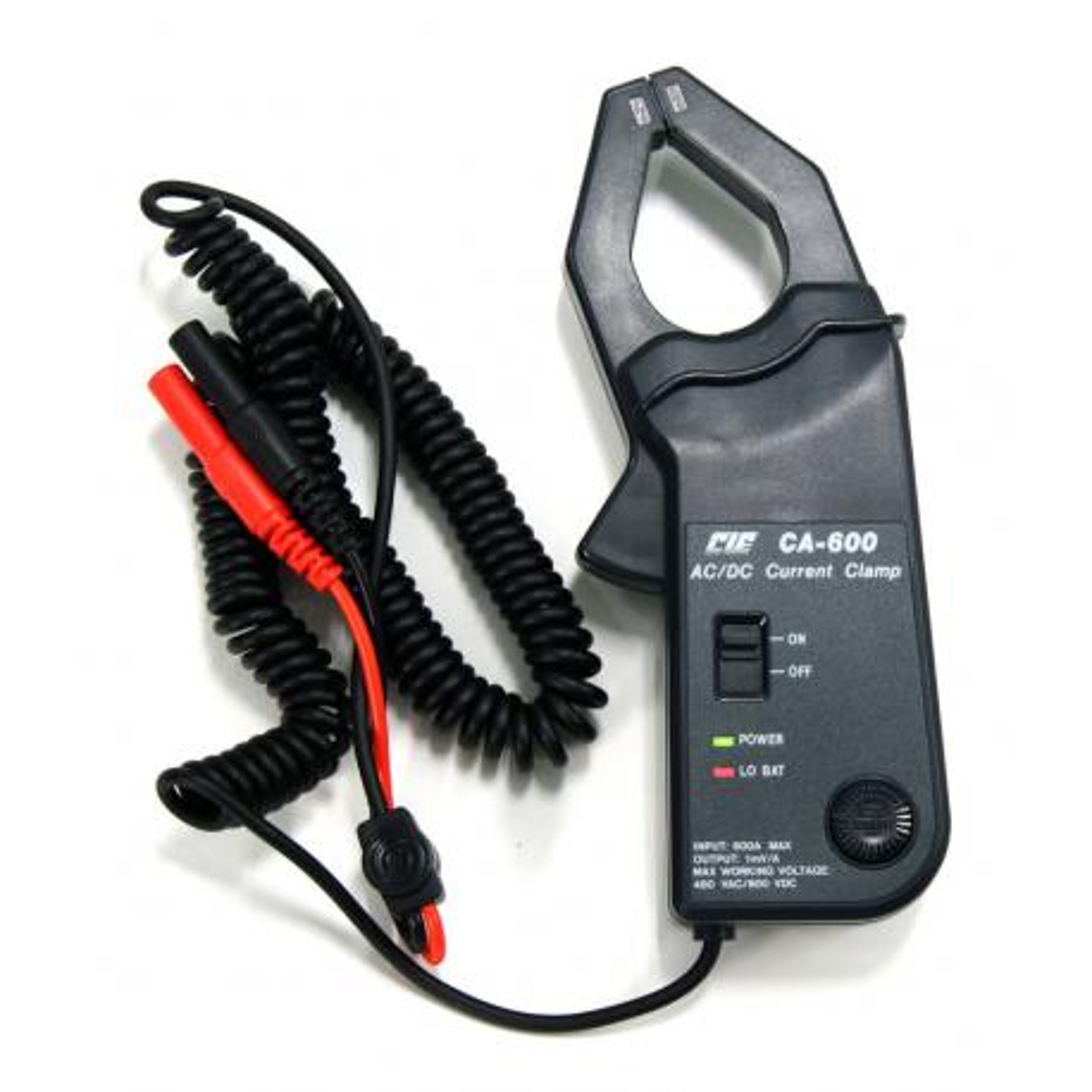 Maxilar adaptador de corriente CA600
