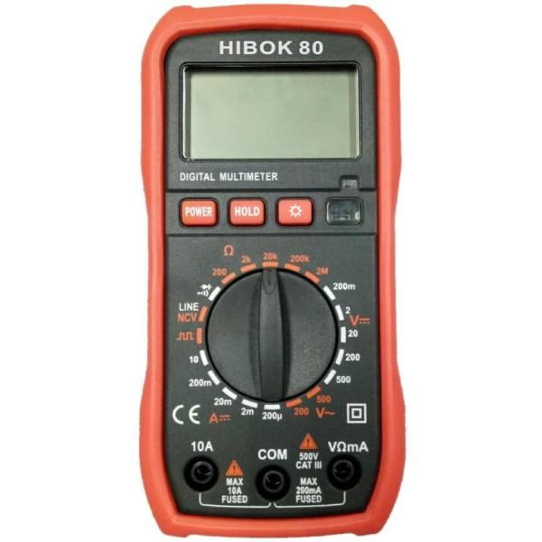 Multímetro HIBOK80
