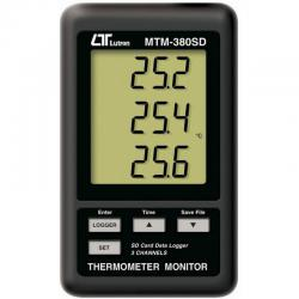 Termómetro tipo K MTM380SD