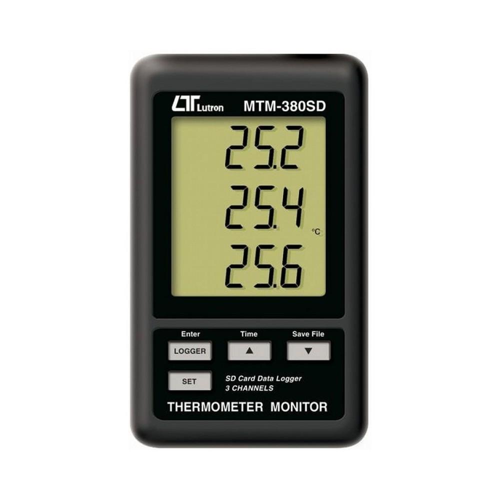 Termómetro termopar tipo K MTM-380-SD