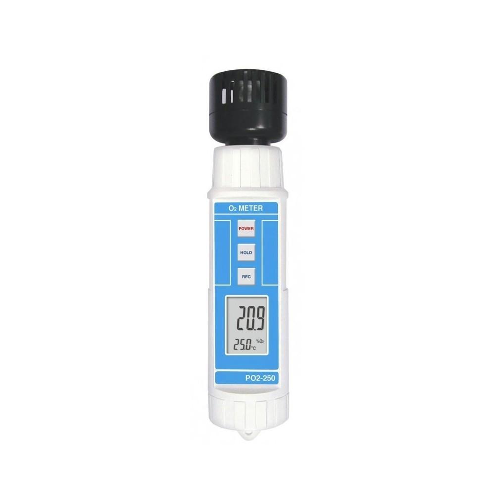 Medidor de oxígeno PO2-250