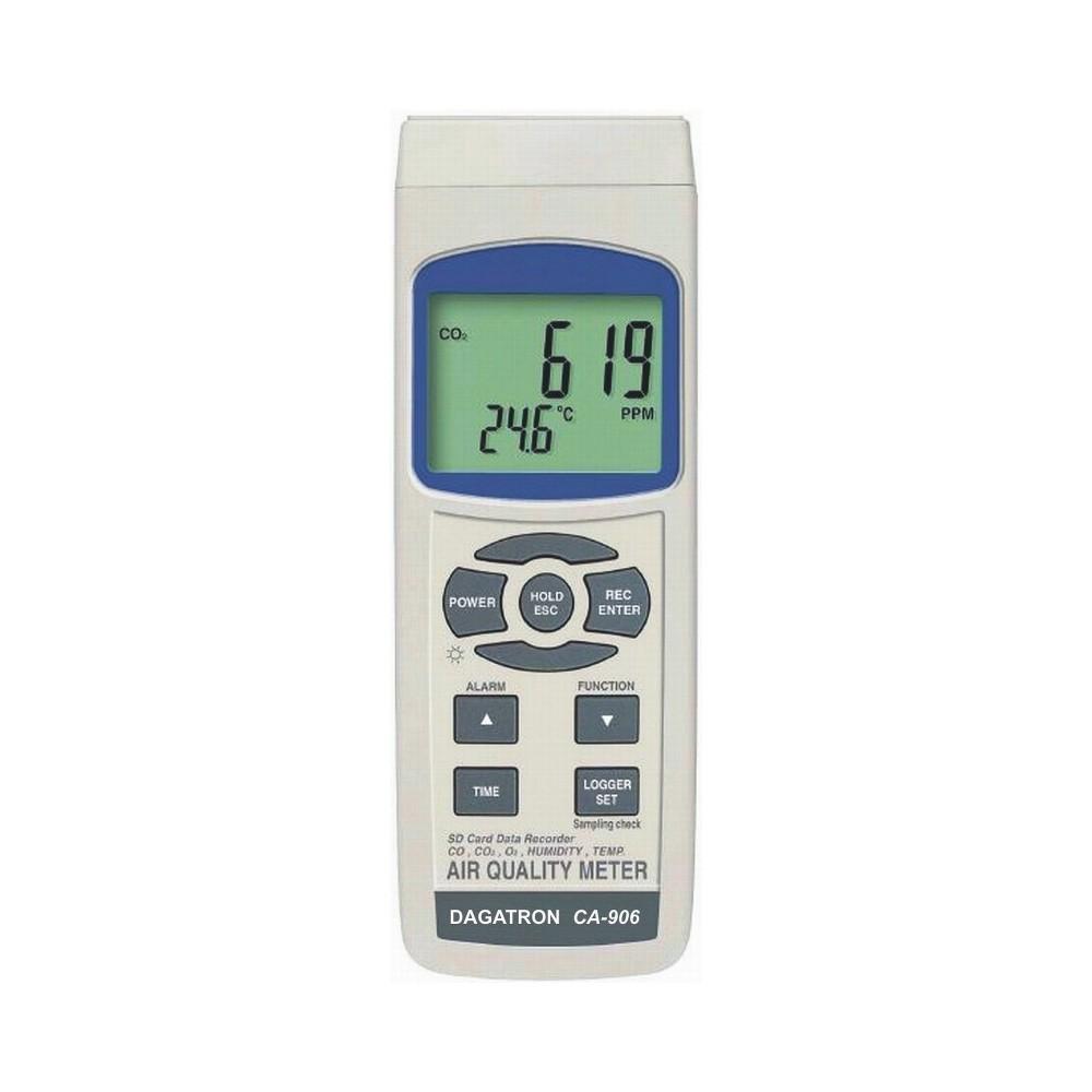Medidor de calidad del aire Dagatron CA-906