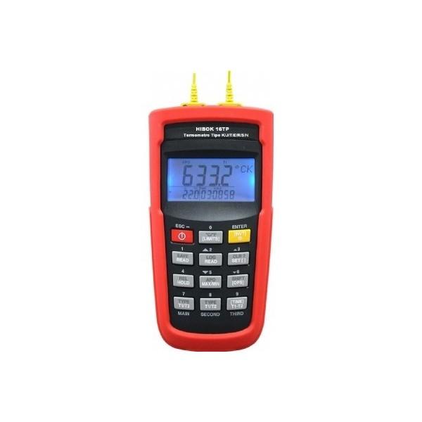 Termómetro de termopares HIBOK16TP