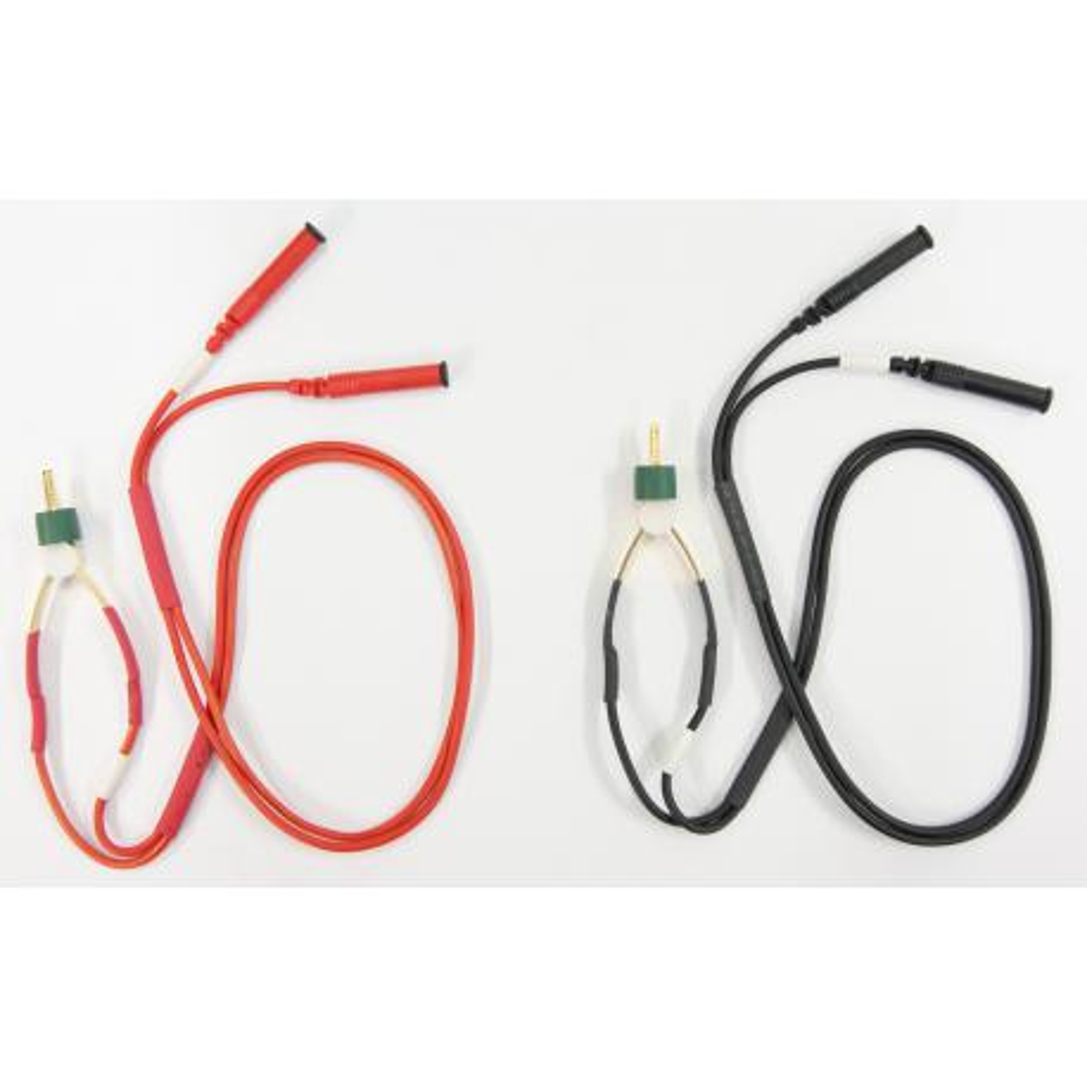 Cables Kelvin para Miliohmetro. TL12