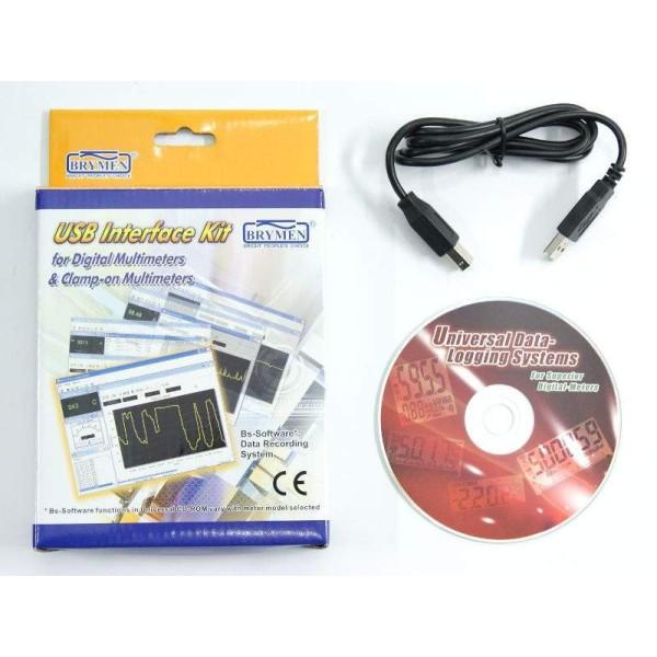 Software BU82X(II) para multímetros BM521