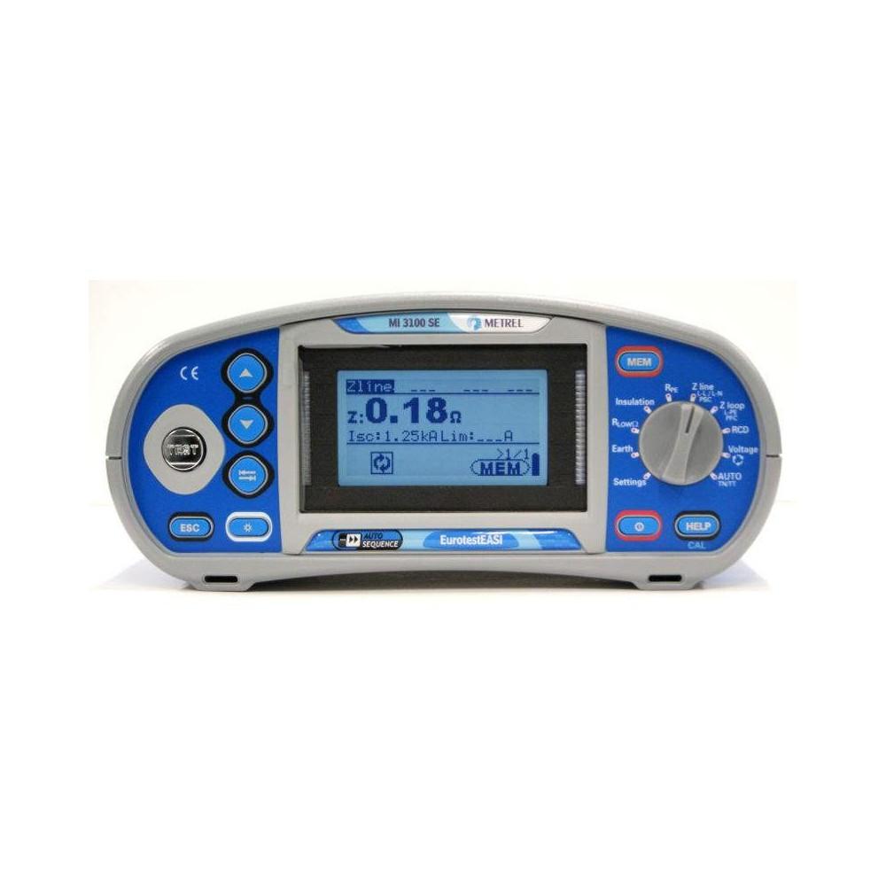 Comprobador eléctrico METREL MI3100SE