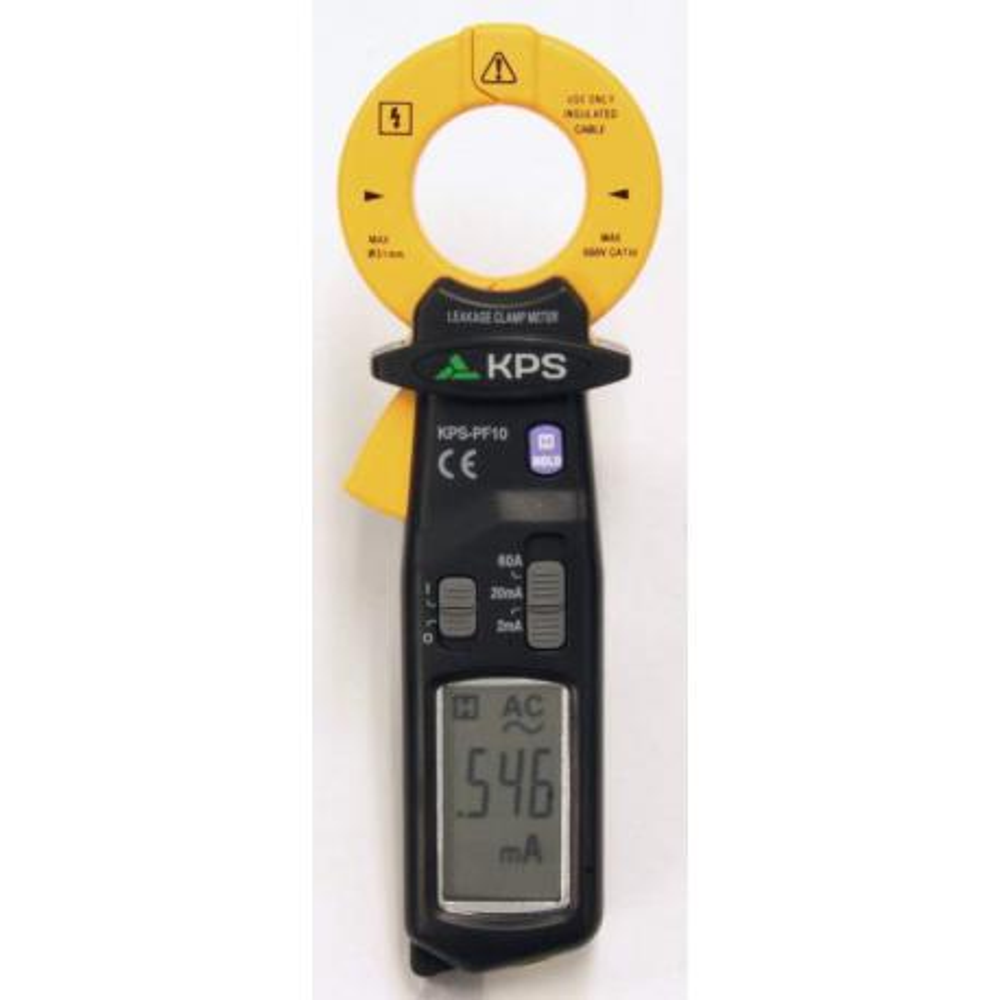 Pinza amperimétrica de fugas PF10