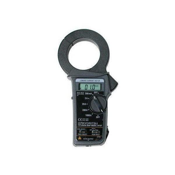 Pinza amperimétrica de fugas KYORITSU2413F