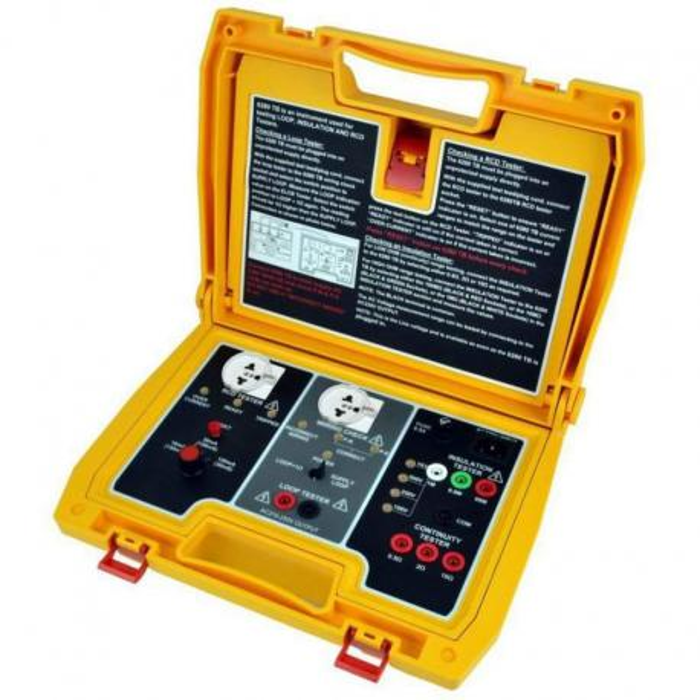 Maleta de verificación de instrumentos de medida Hibok 6280-TB