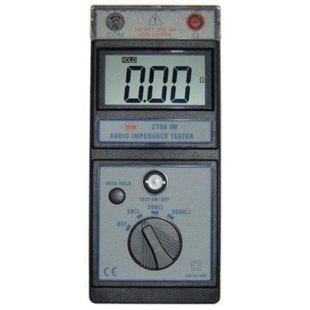 Medidor de impedancia de audio Hibok-2706IM