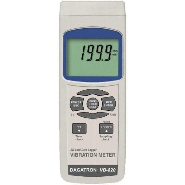Medidor de vibraciones VB8206SD