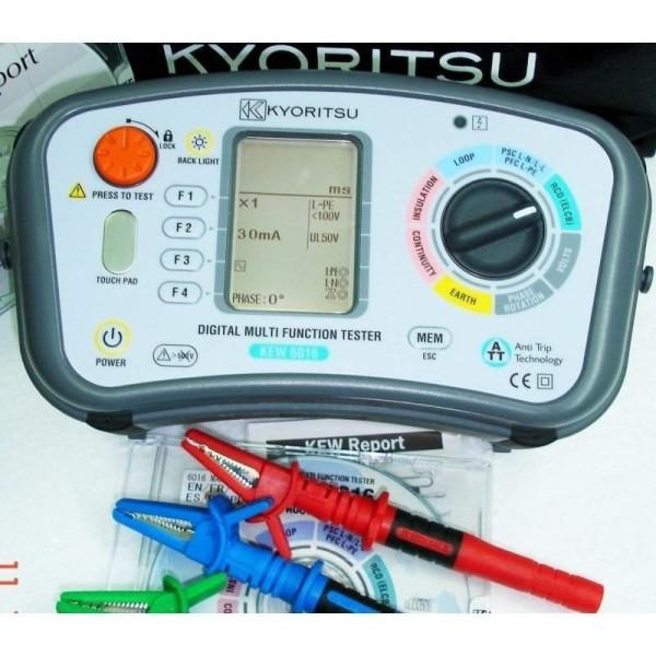 Comprobador Instalaciones KYORITSU 6016