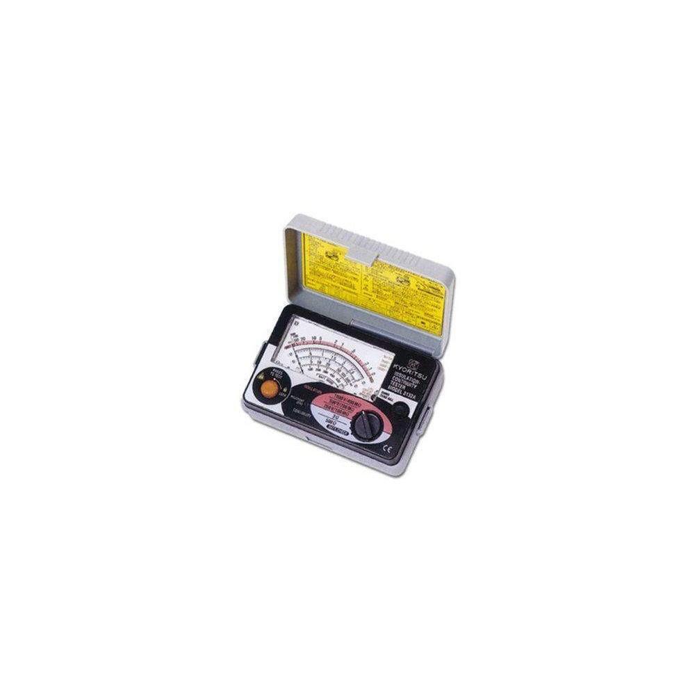 Medidor de aislamiento analógico Kyoritsu-3132-A