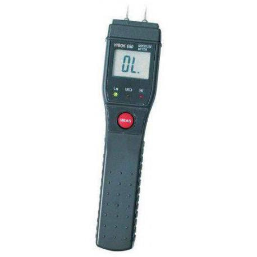 Higrómetro para madera Hibok-690