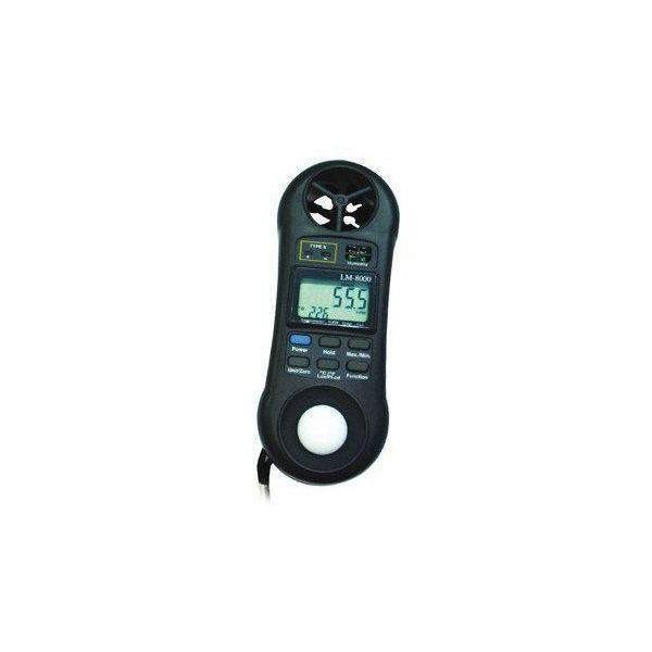 Higrómetro anemómetro luxómetro LM-8000-A