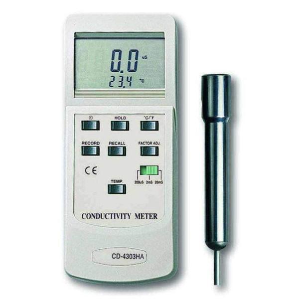 Medidor de conductividad CD-4303-HA