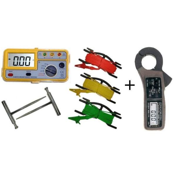 Oferta Telurómetro Hibok-320 + Pinza de fugas Kyoritsu-2414