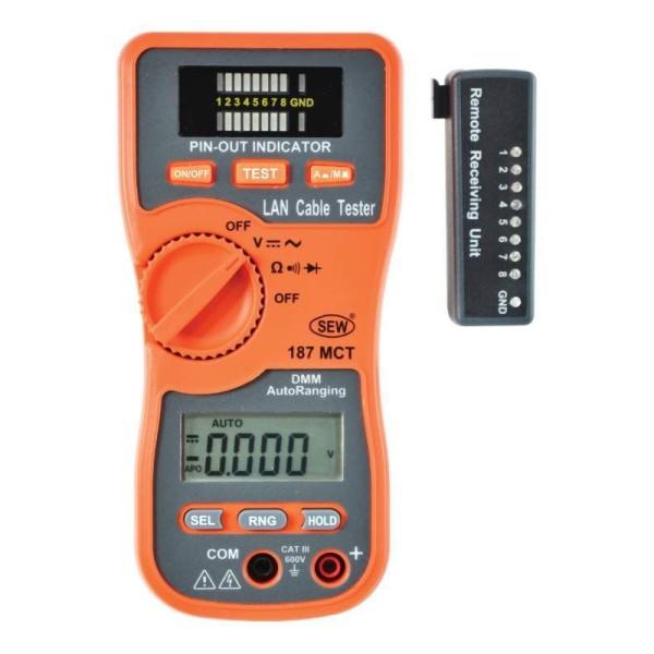 Multímetro para telecomunicaciones 187MCT
