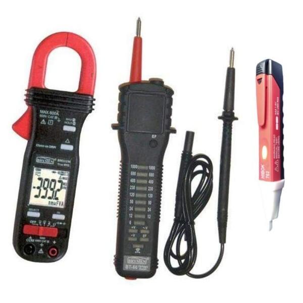 Pack 9: Pinza amperimétrica BM-112 y comprobador de tensión BT-66
