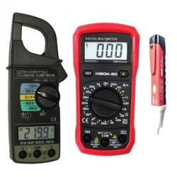 Oferta Pinza Amperimétrica Kyoritsu-2007A y Multímetro Hibok-80