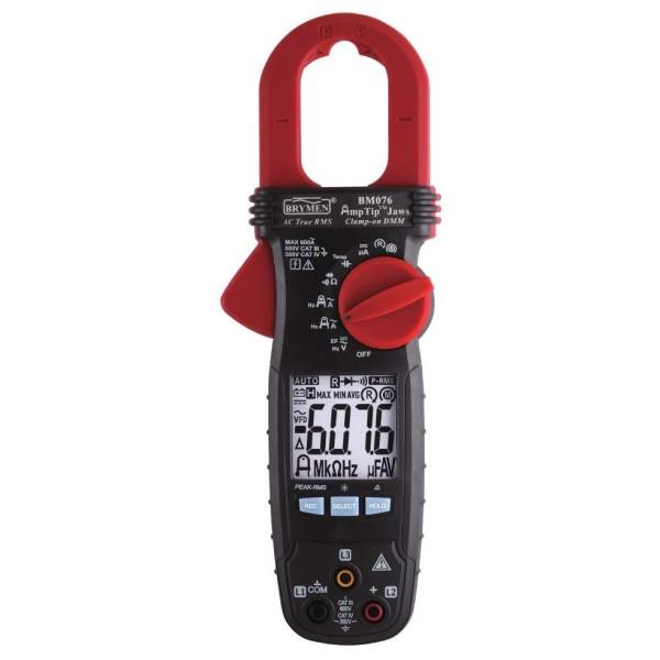 Pinza amperimétrica TRMS Brymen BM076