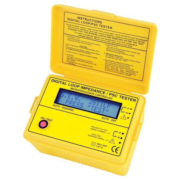 Medidor de Impedancia de Bucle HIBOK323