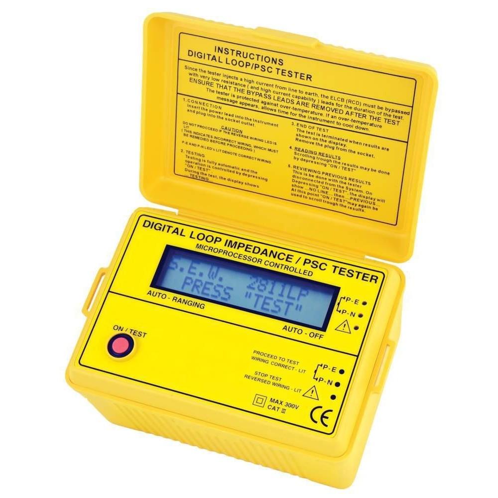 Medidor de impedancia de bucle Hibok-323